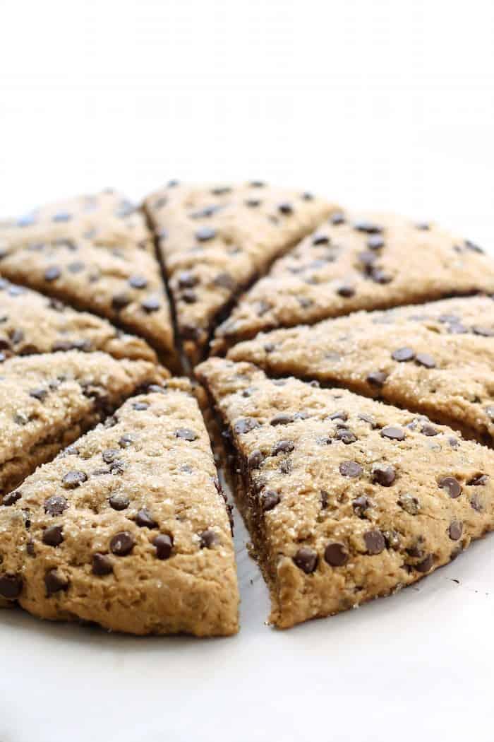 Vegan-Clean-Eating-Chocolate-Chip-Scones-7