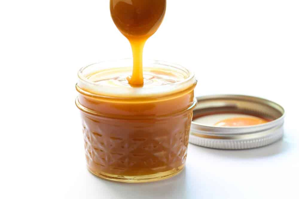 Golden Vegan Caramel Sauce