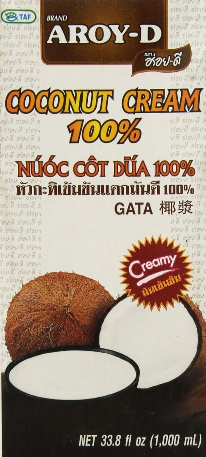 Coconut Cream Carton