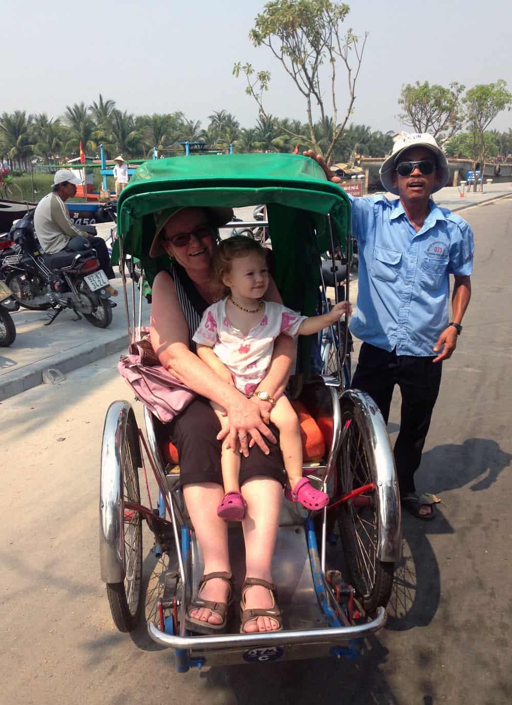 Bicycle Rickshaw in Hoi An