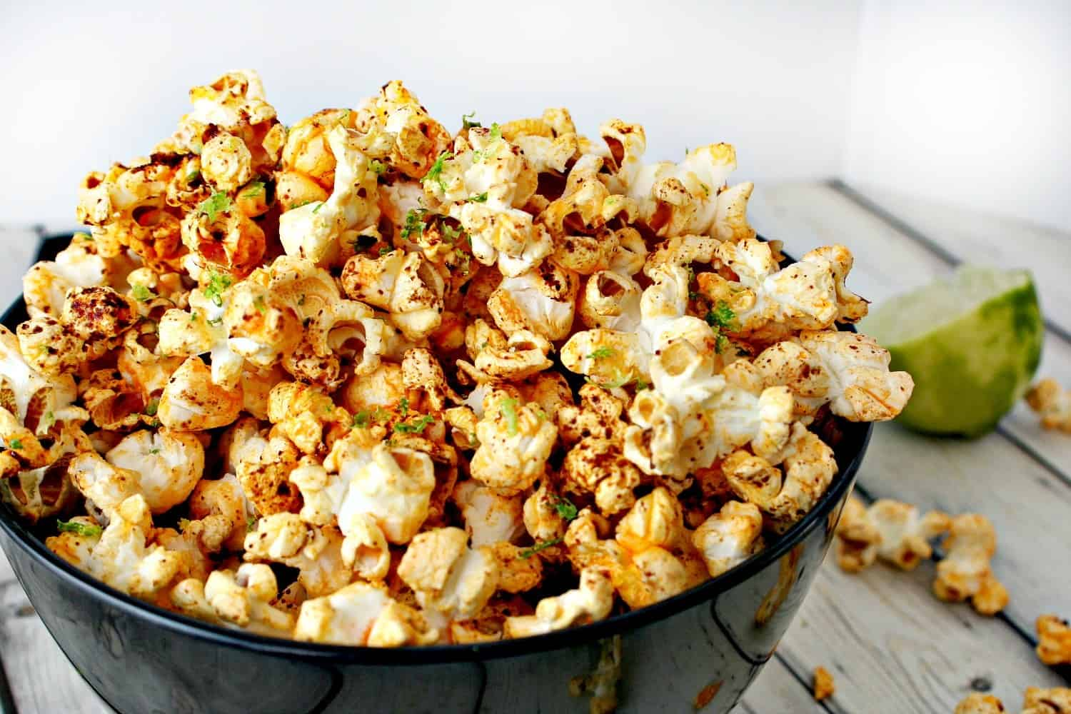 Chili + Lime Coconut Oil Popcorn – Killing Thyme