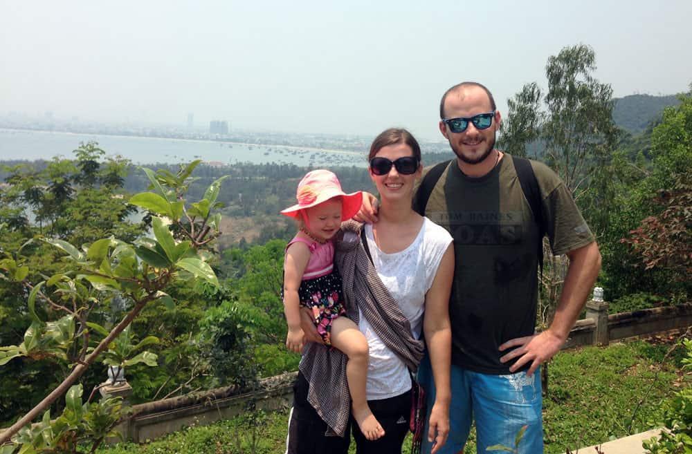 Danang View from Lady Buddha