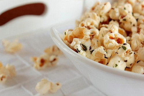 Italian Breadstick Popcorn Recipe