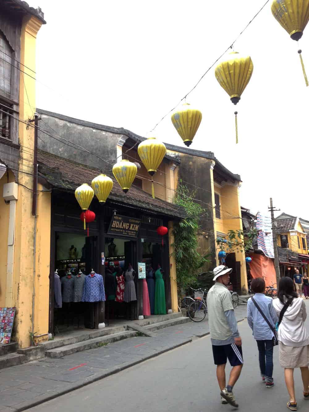 Yellow Lanterns in Hoi An