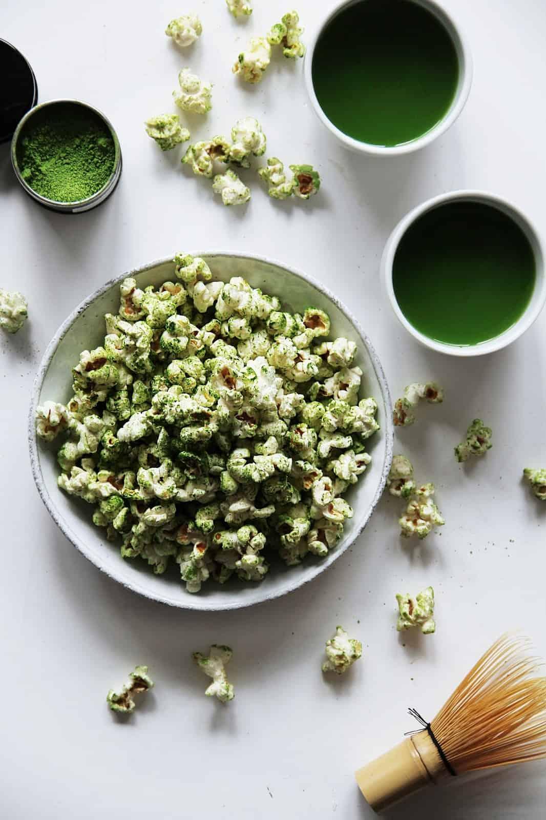 Matcha Popcorn Recipe