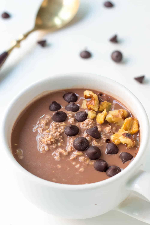 Mocha Crunch Chocolate Overnight Oats