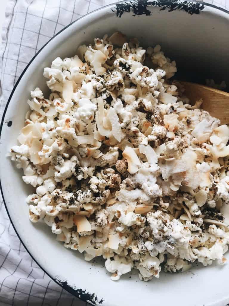 Chai Tea Popcorn