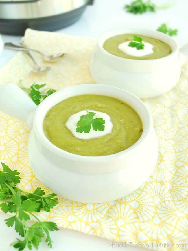 Pressure Cooked Split Pea Soup