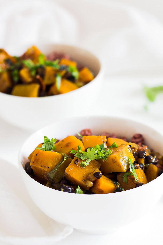 Butternut Black Bean Curry