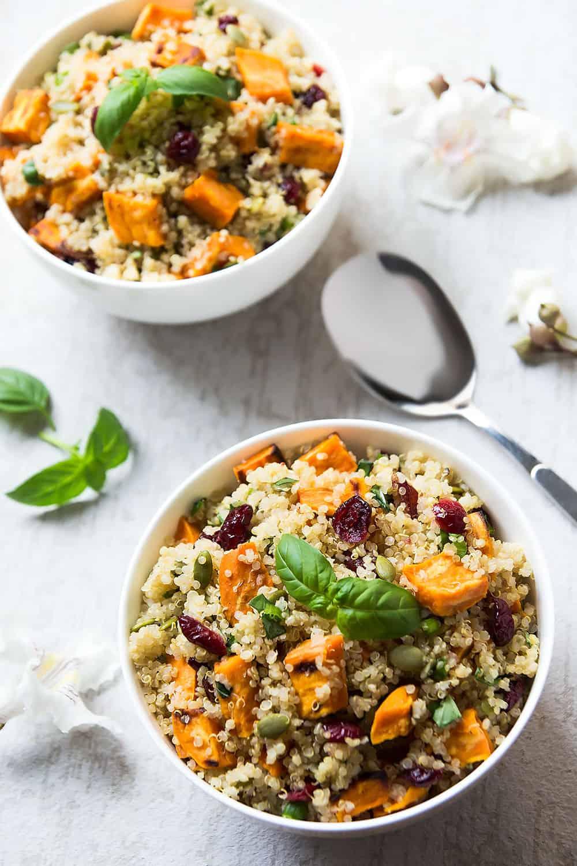 Quinoa with Sweet Potatoes
