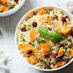 Sweet Potato Cranberry Quinoa