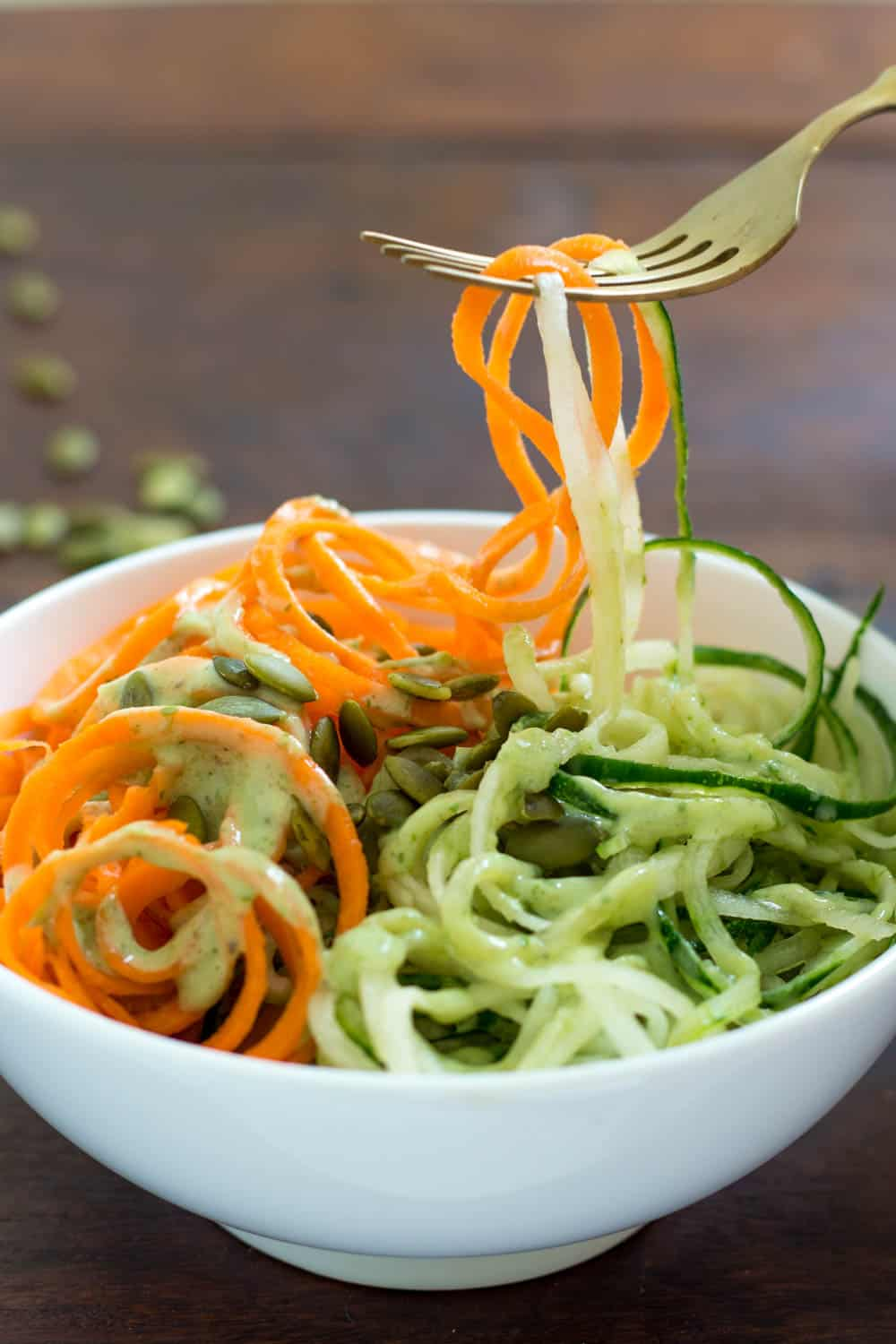 Noodles Salad with Carrots