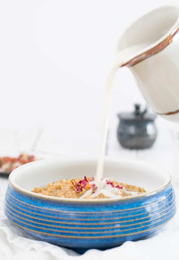 Instant Pot Earl Grey Oatmeal