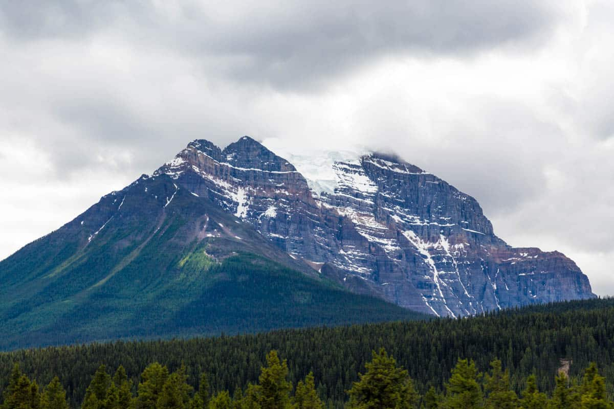 Mountain in Canada Rocky Mountains