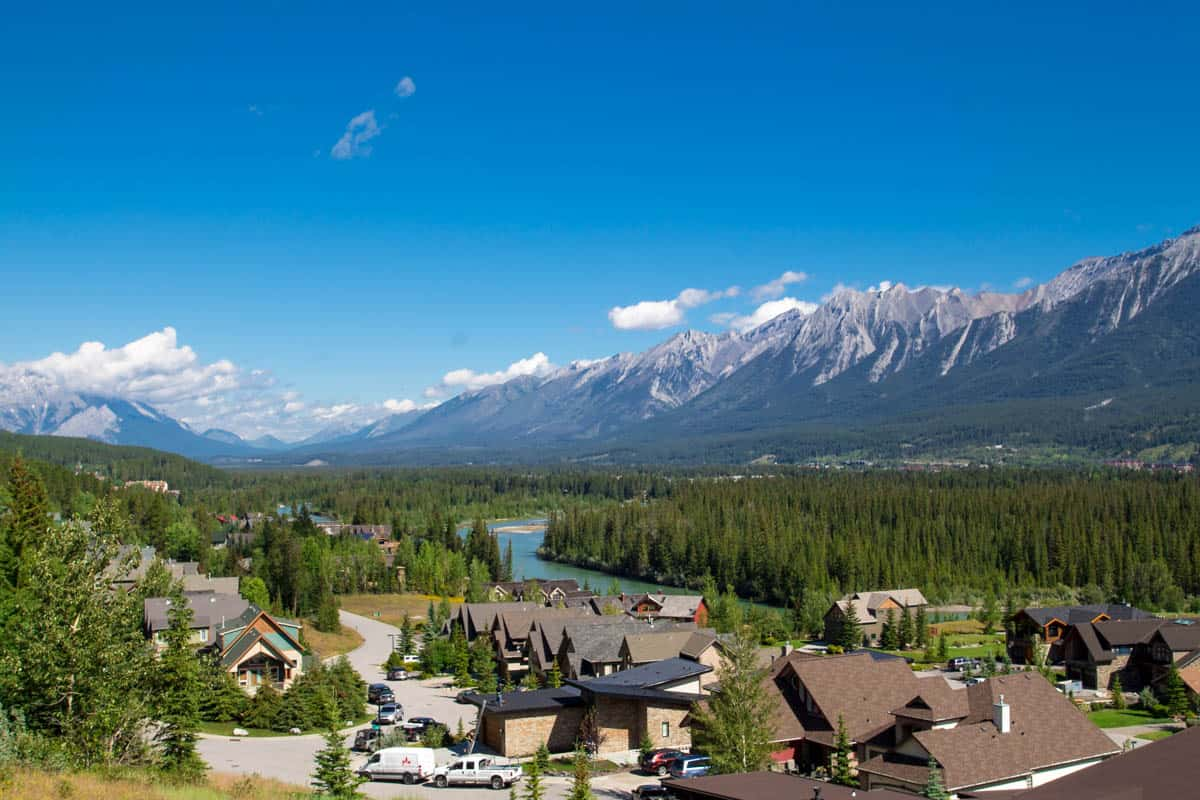 Canmore Candian Rocky Mountains