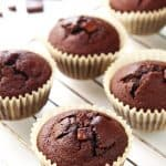 Coconut Flour Chocolate Muffins (VIDEO)