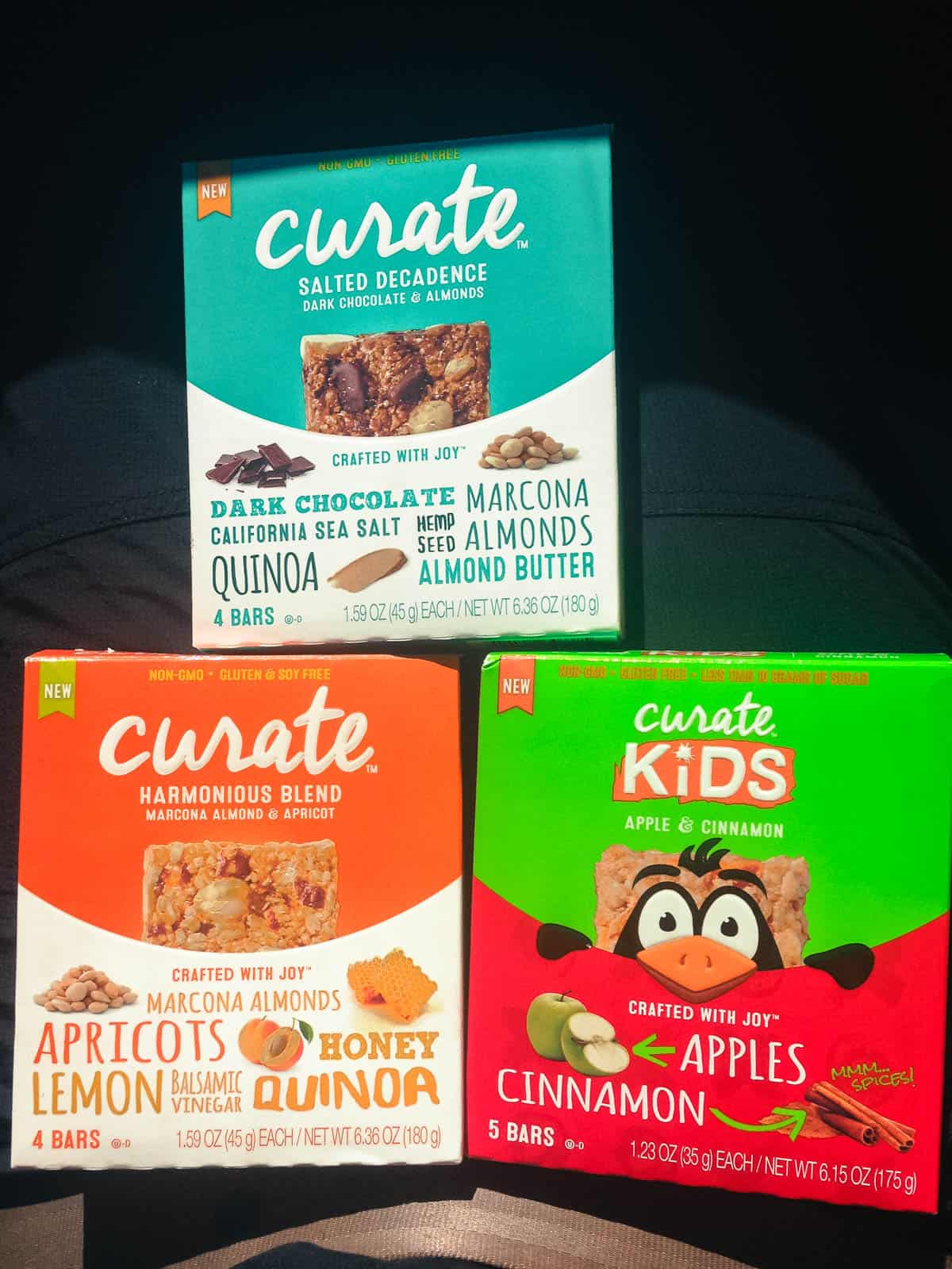 Curate Bars for the Family