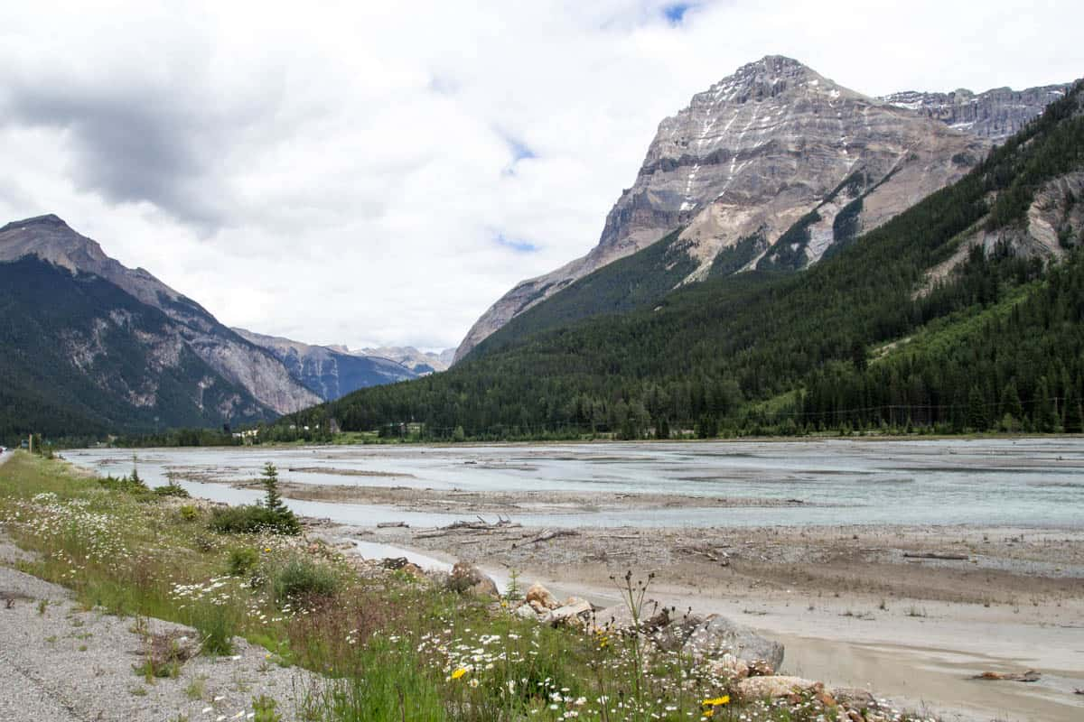 Canadian Rocky Mountain Lake