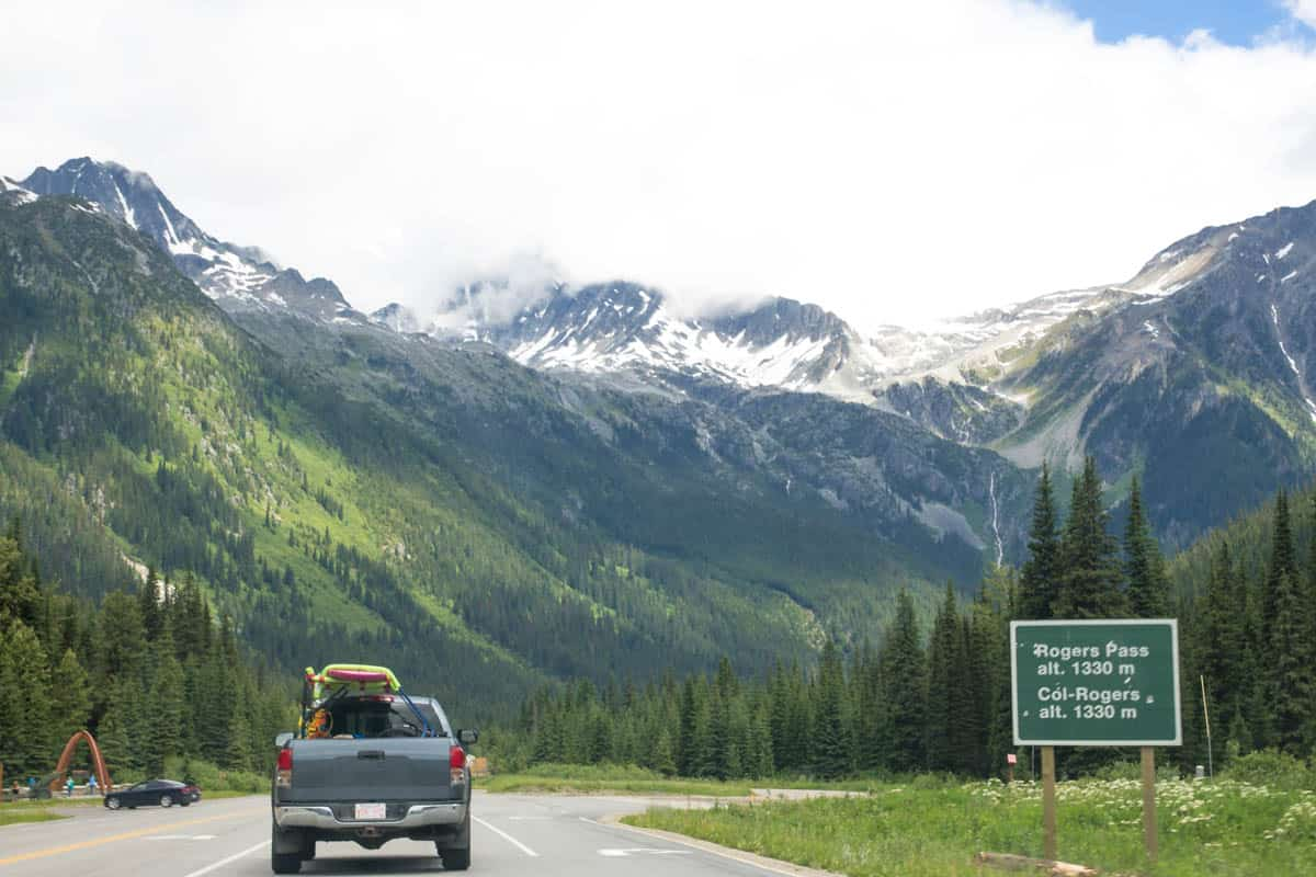 Rogers Pass Hwy 1