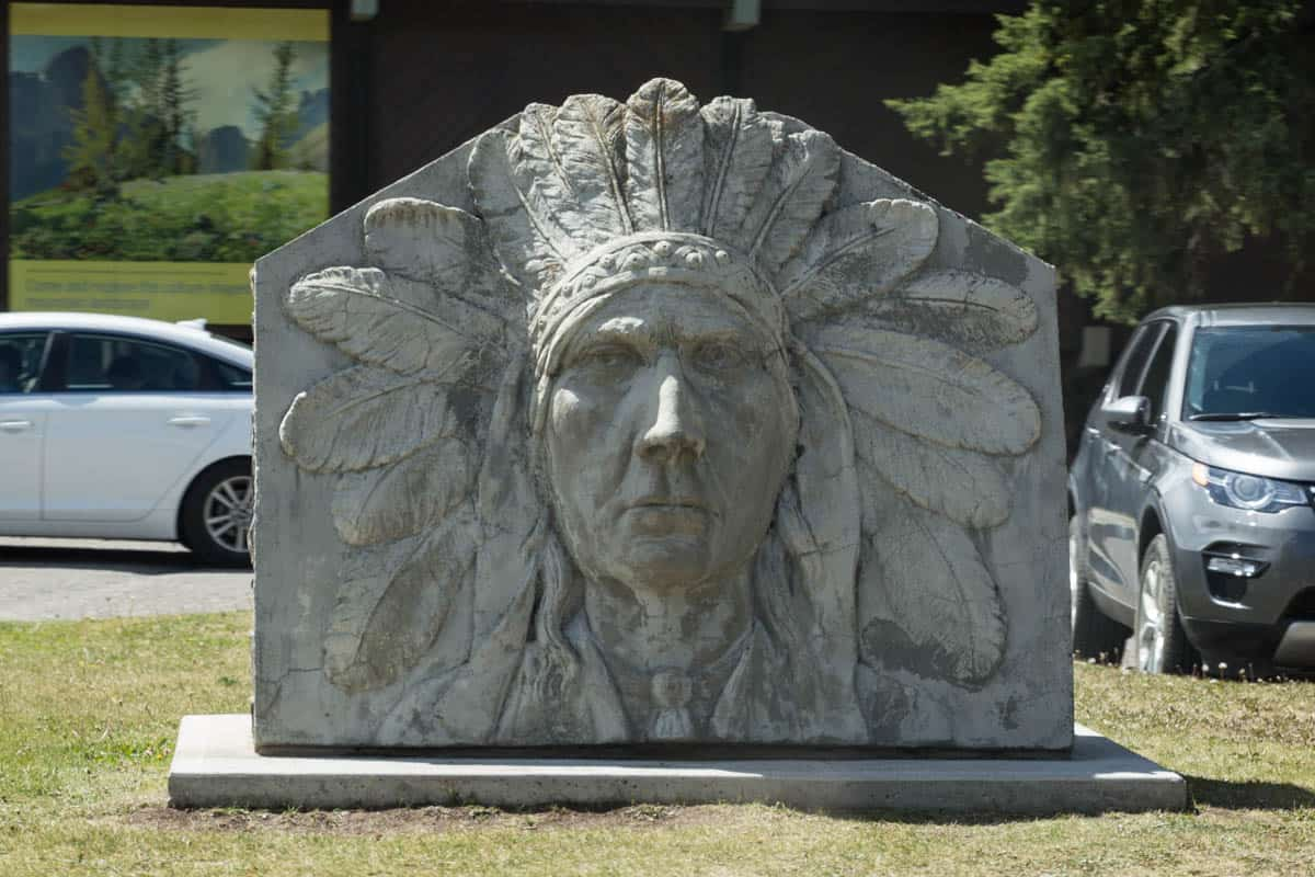 Statue Banff