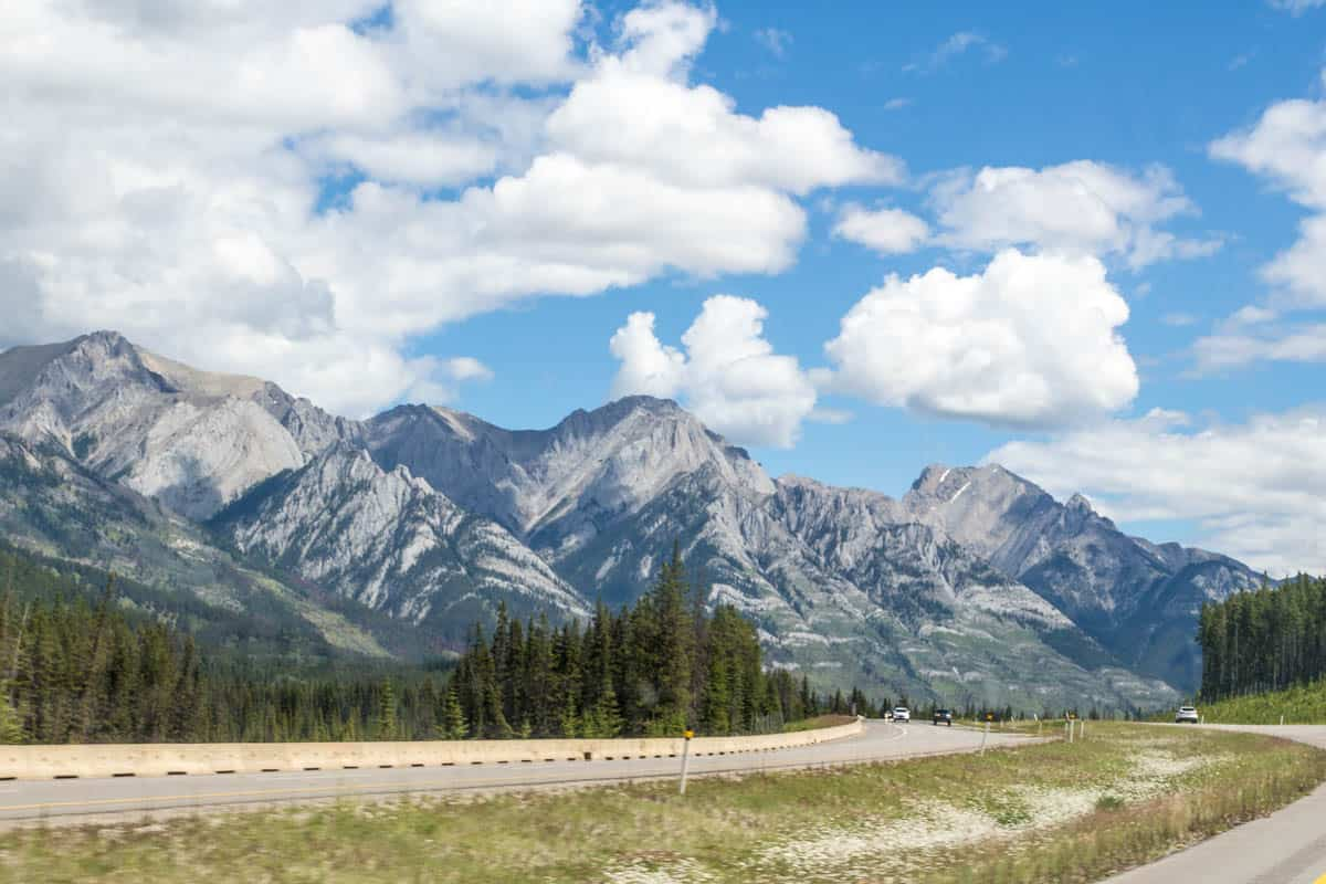Viewpoints in Canadian Rockies