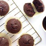 Chocolate Coconut Flour Muffins