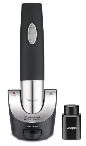 Waring Pro WO50B Cordless wine bottle opener