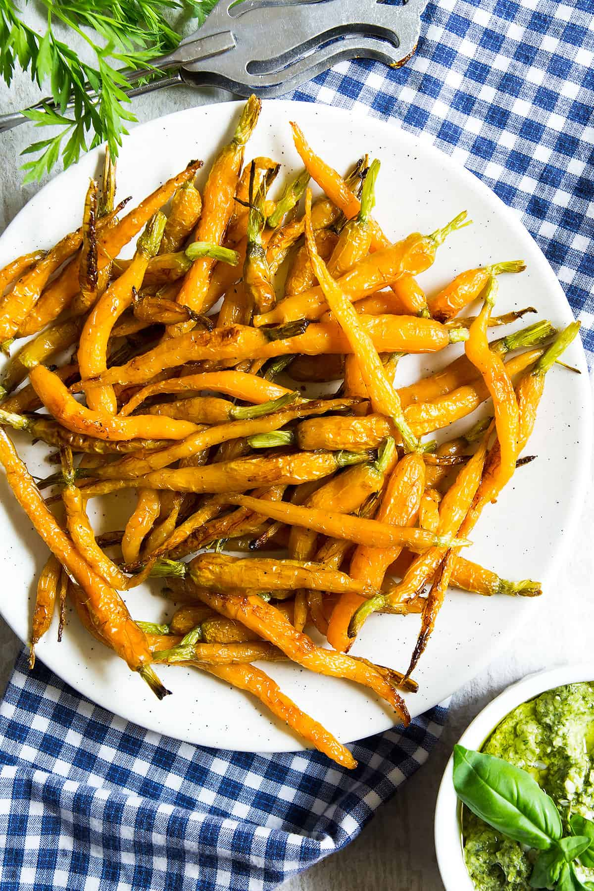 Maple Roasted Carrots Recipe