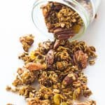 Gingerbread Clean Eating Granola