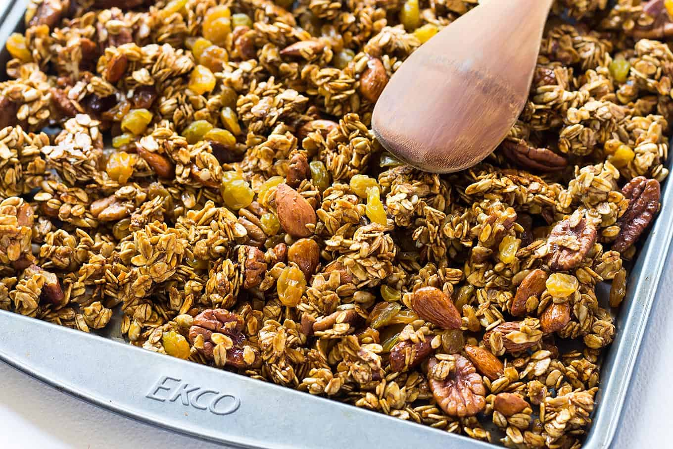 Gingerbread Homemade Gluten Free Granola