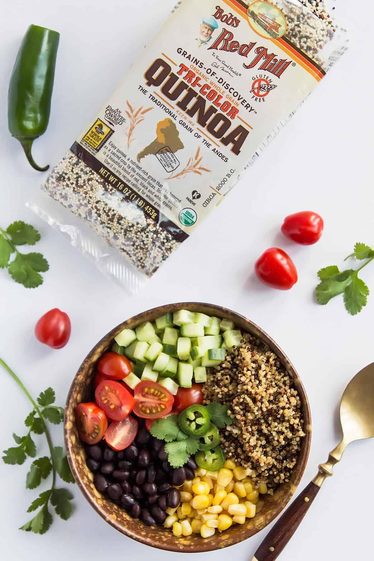 Mexican Vegan Quinoa Recipe