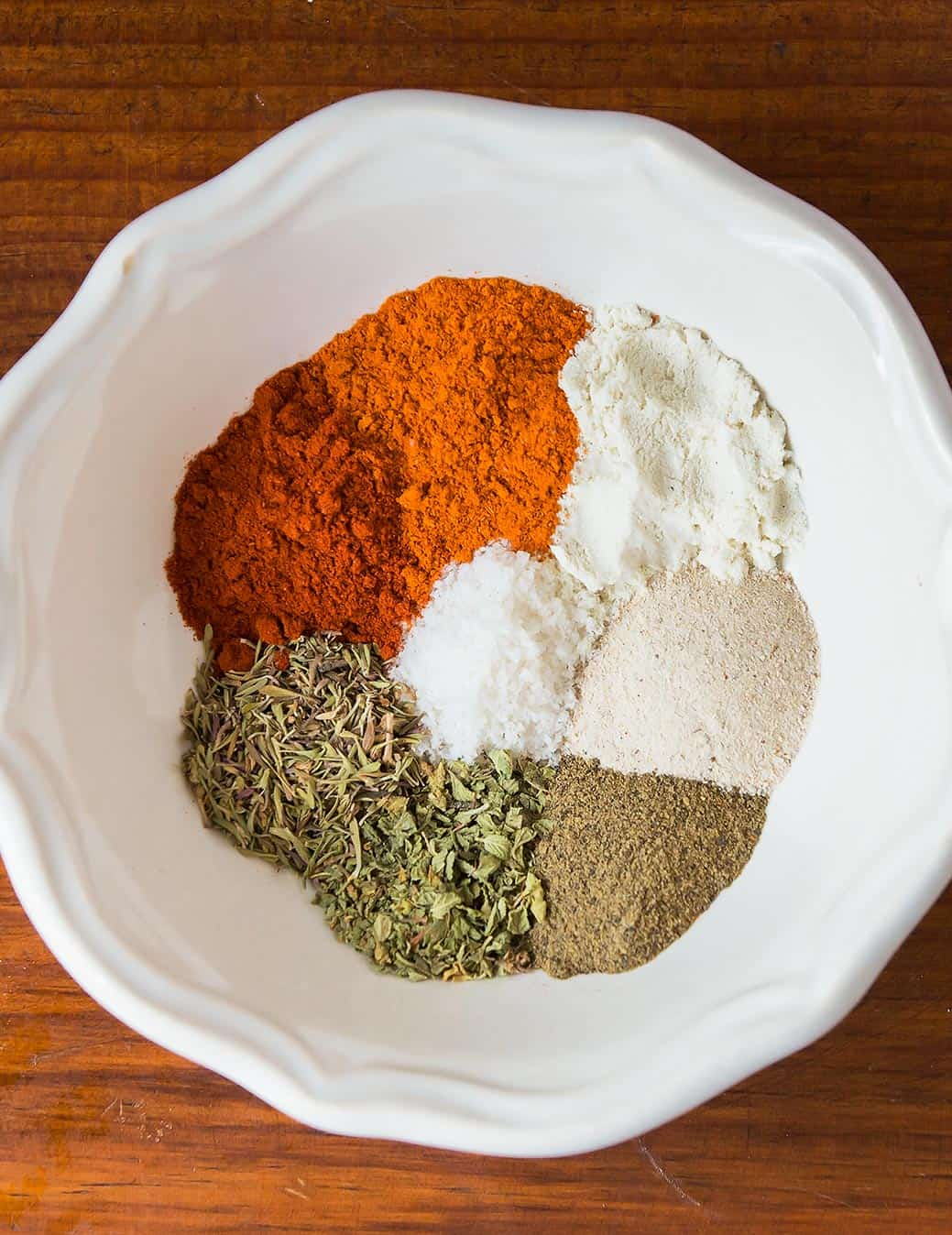 Cajun Spice Mix in Bowl