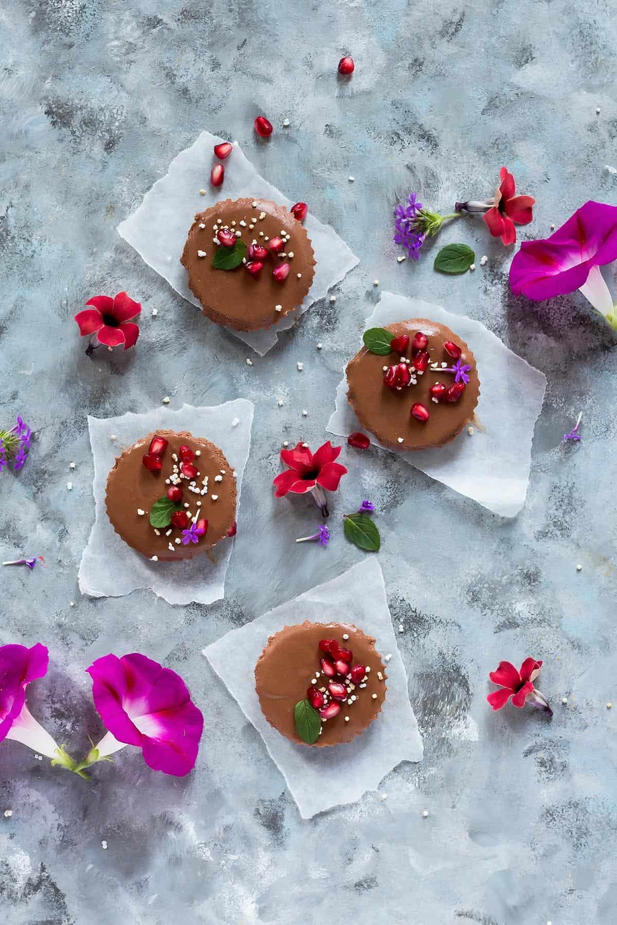 Mini Chocolate Tartlets