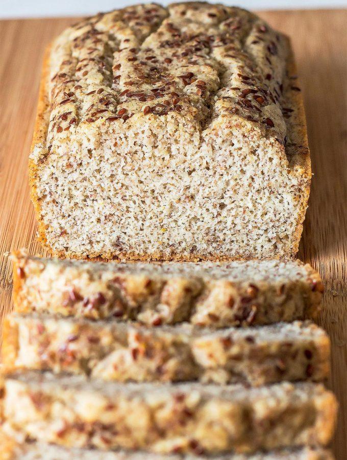 Fluffy Coconut Flour Bread