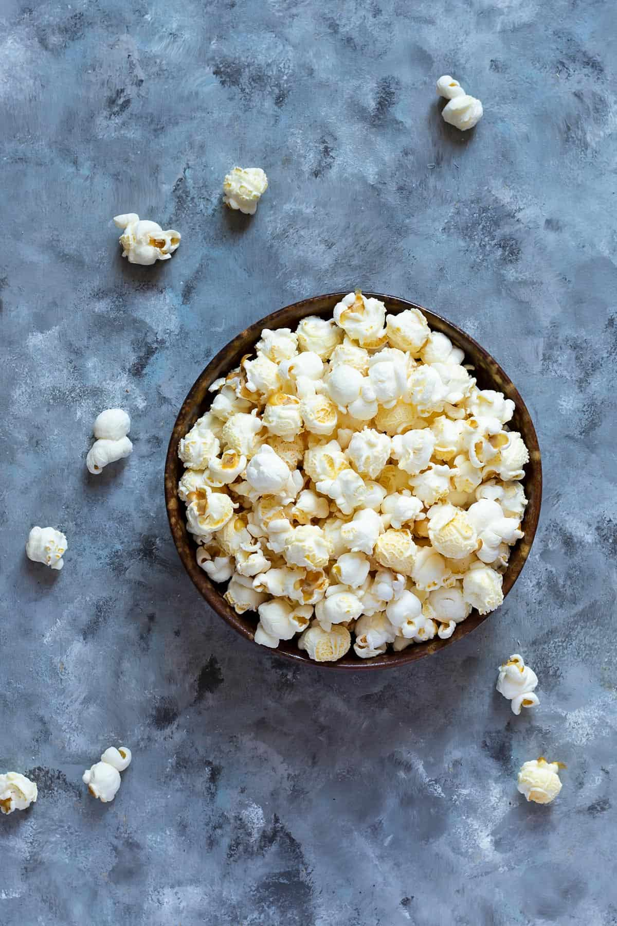 Conventional Store-bought Popcorn
