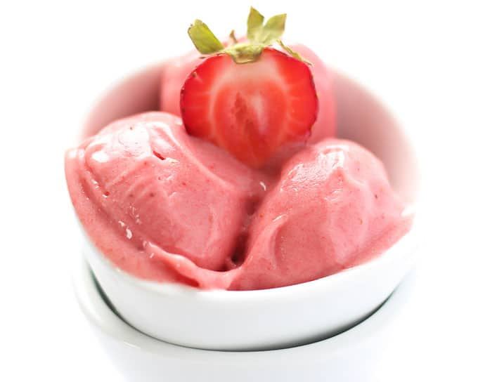 Strawberry Nice Cream