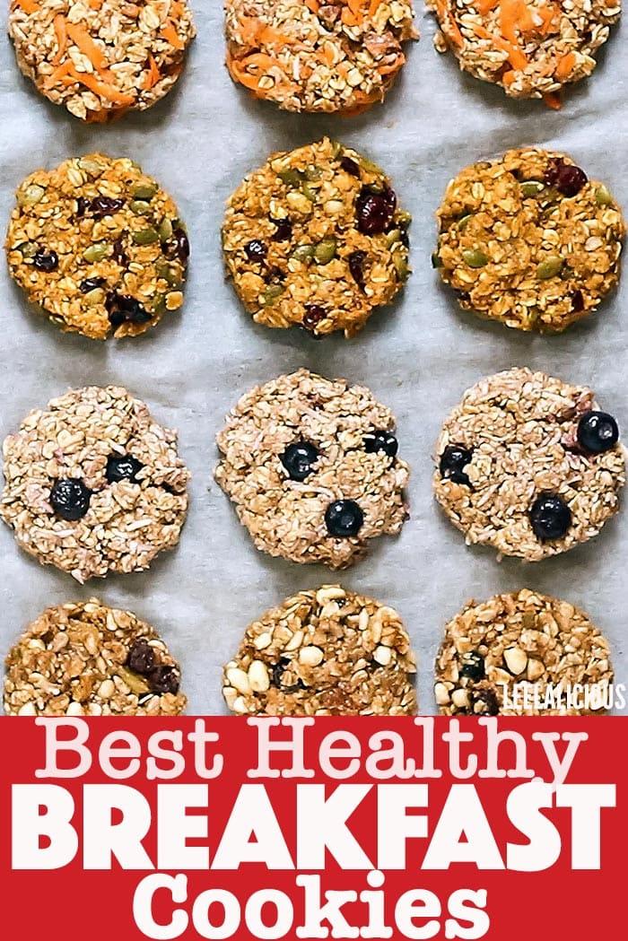 Healthy Breakfast Cookies Pin