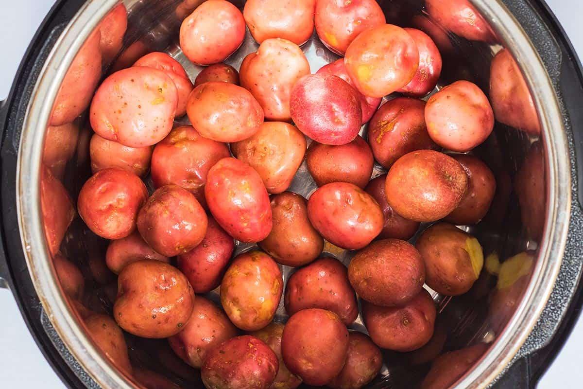 Potatoes in Instant Pot