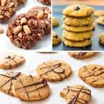 The Best Gluten Free Cookies – 3 Ways VIDEO