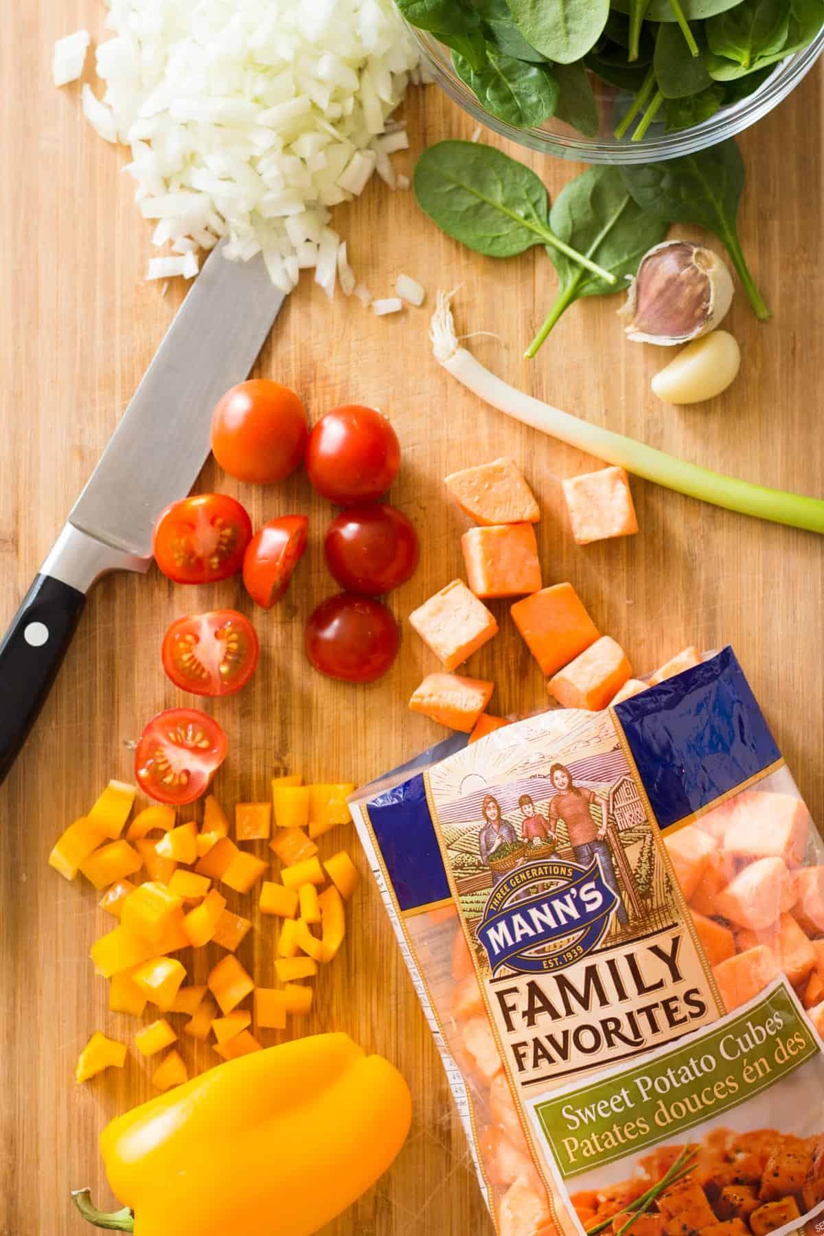 Healthy Breakfast Casserole with Sweet Potato