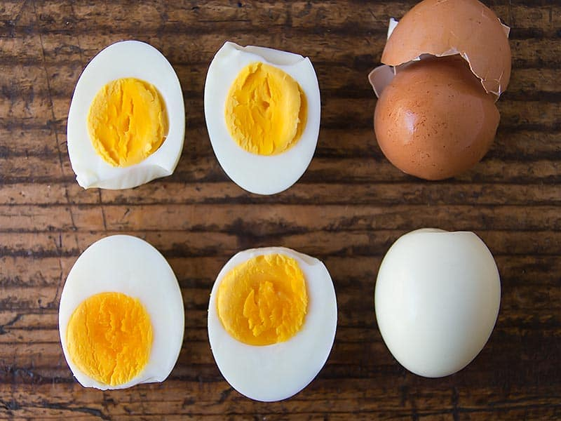 Instant Pot Hard Boiled Eggs Peeled