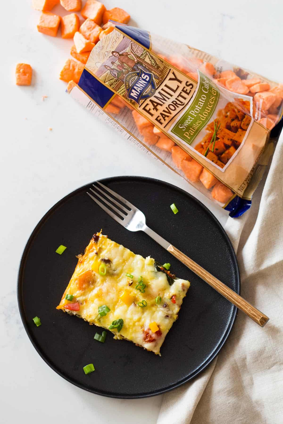 Sweet Potato Casserole with Eggs