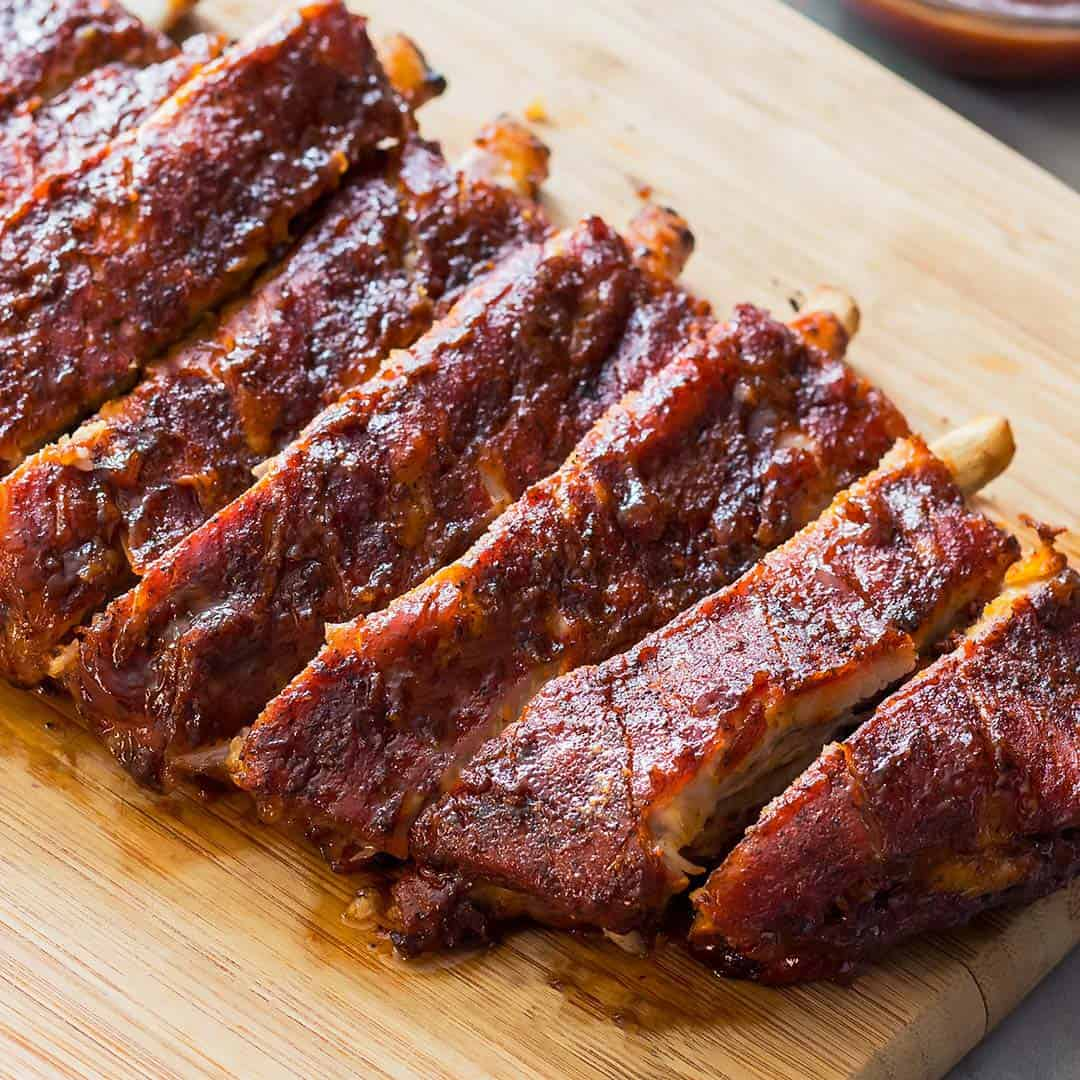 Calories in slow cooker pork ribs