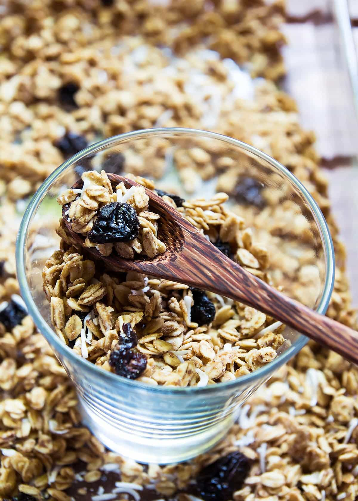 Homemade Granola in a Glass