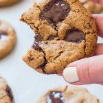 Holding Coconut Flour Cookie