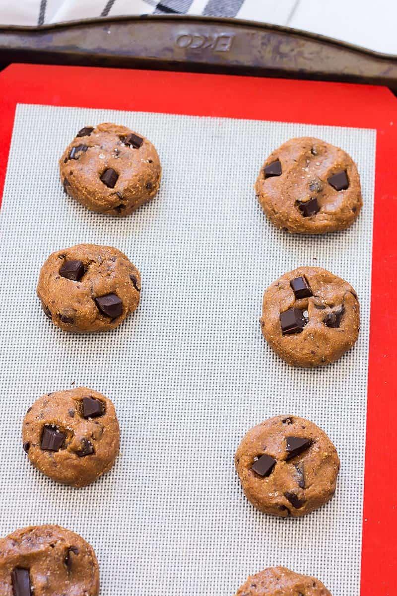 Coconut Flour Cookie Dough Balls