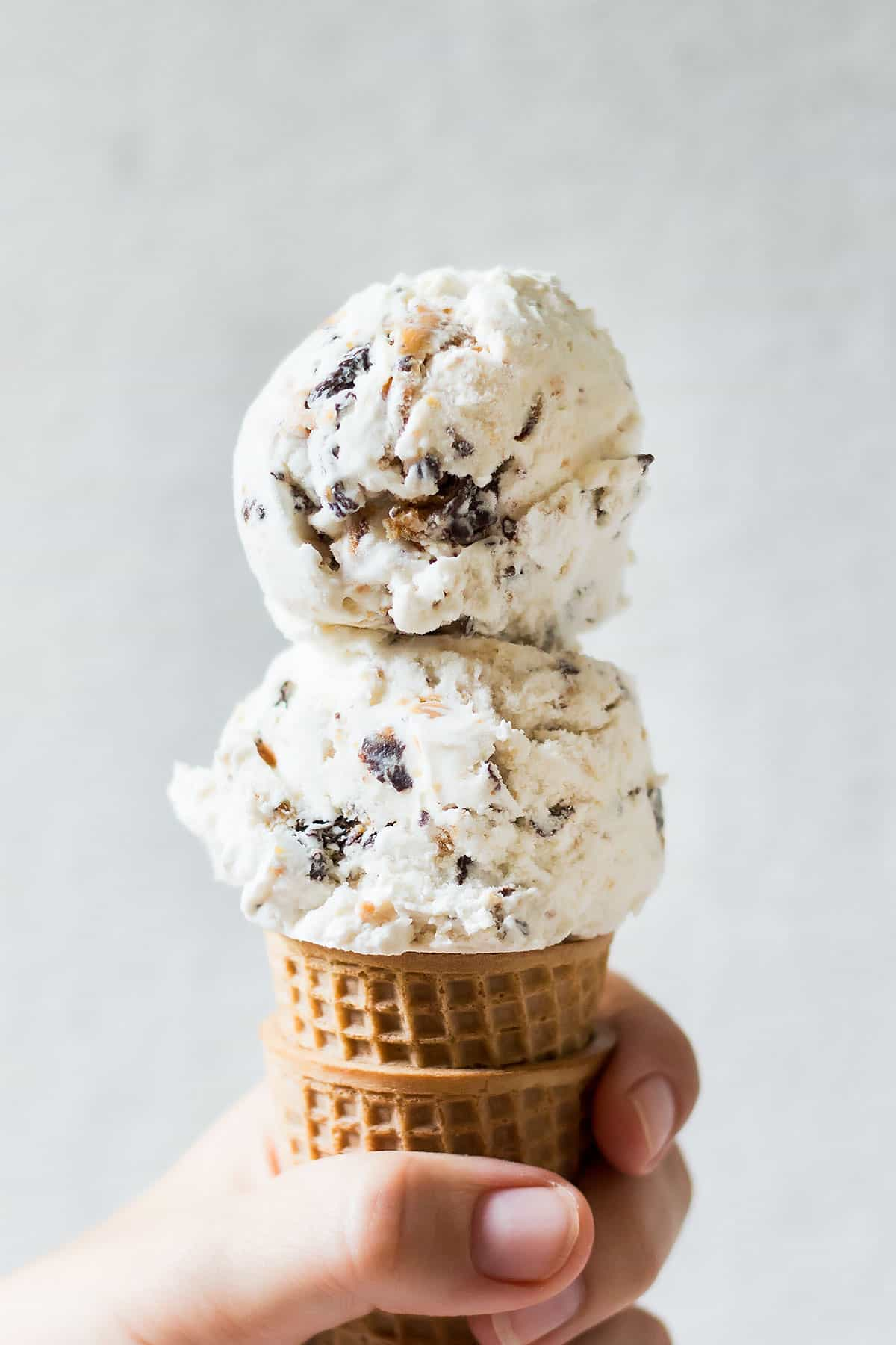 Holding Ice Cream Cone