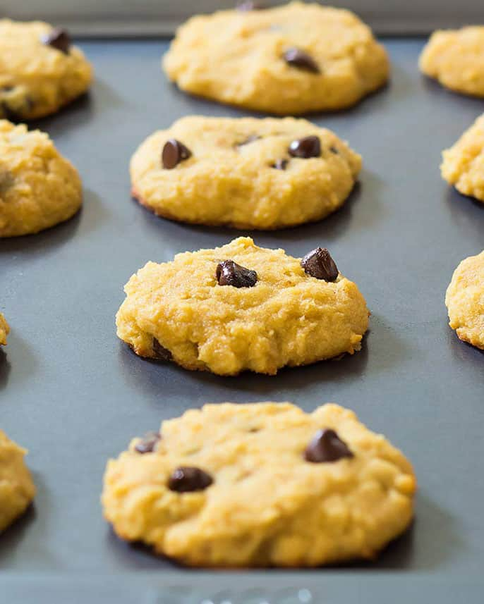 Baking Sheet of Cookies