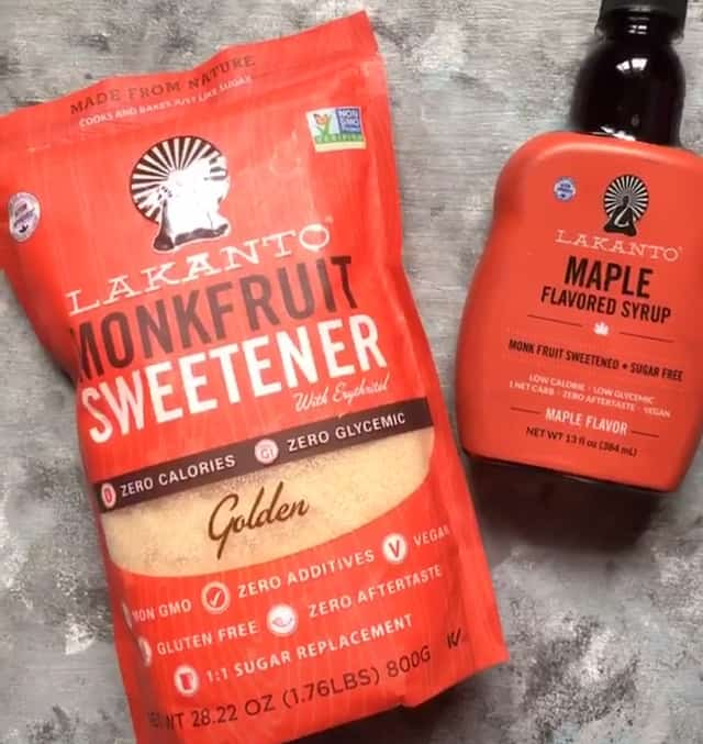 Granulated and Syrup Monk Fruit Sweetener