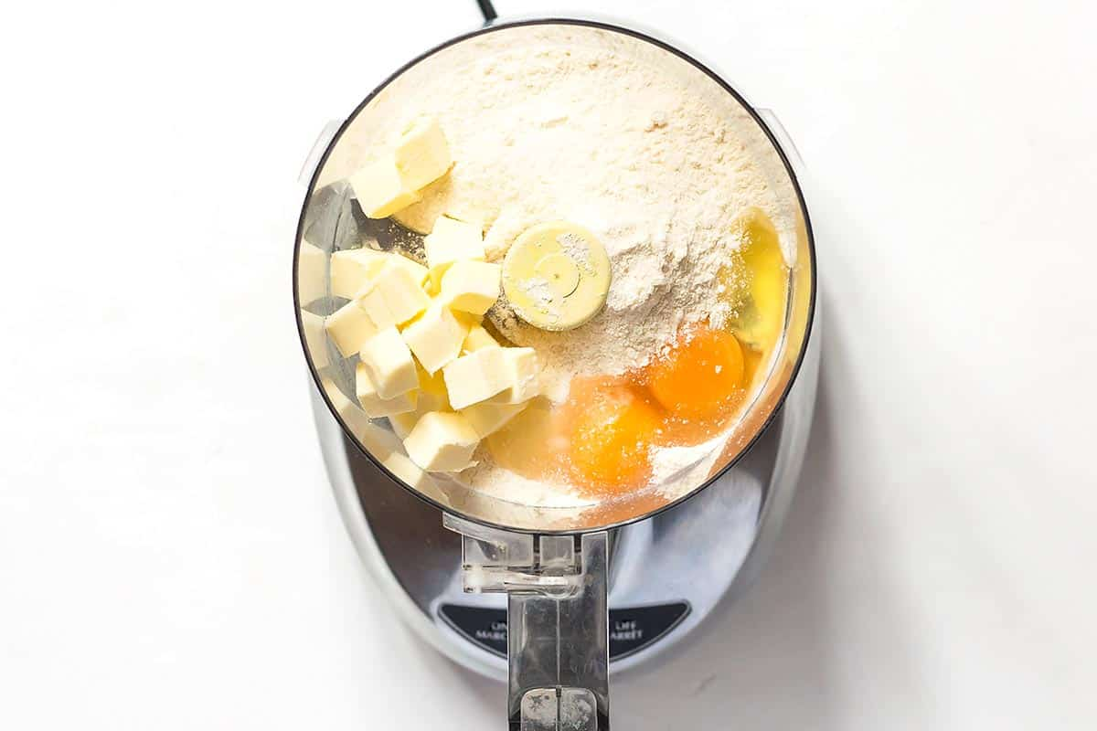 Coconut Flour Pie Crust Ingredients in Food Processor